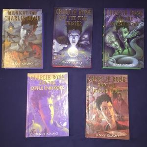 Charlie Bone Books - 5 books!